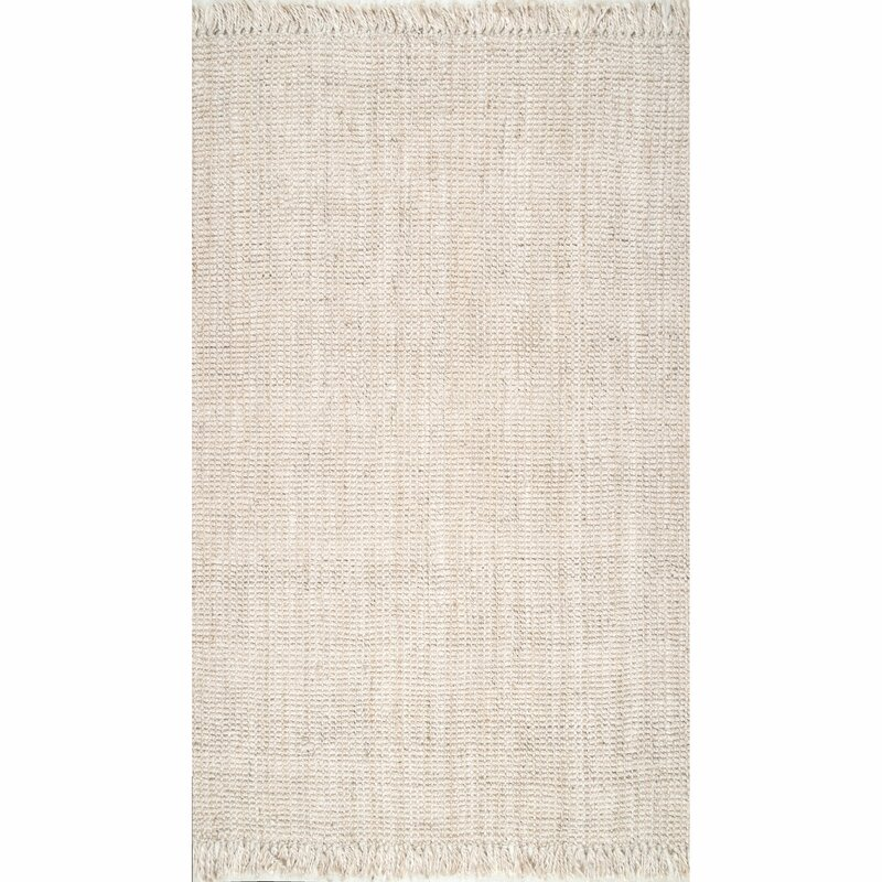 Elana Handwoven Solid Color Area Rug