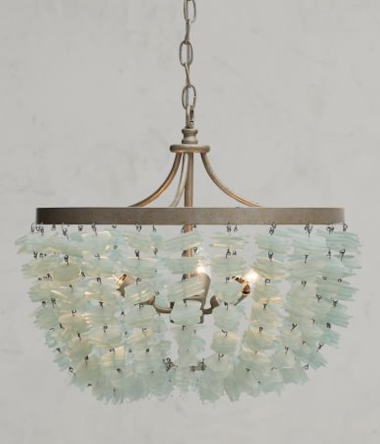 ENYA SEAGLASS CHANDELIER