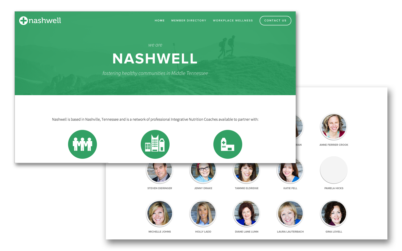 visit nashwell.com to see the full site.