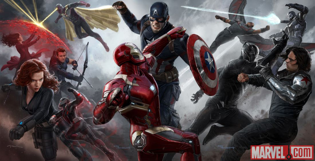 Marvel's next entry in the MCU is  Captain America: Civil War