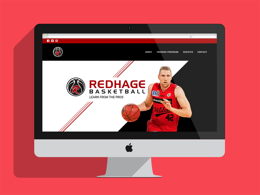 check out the full site at  redhagebasketball.com