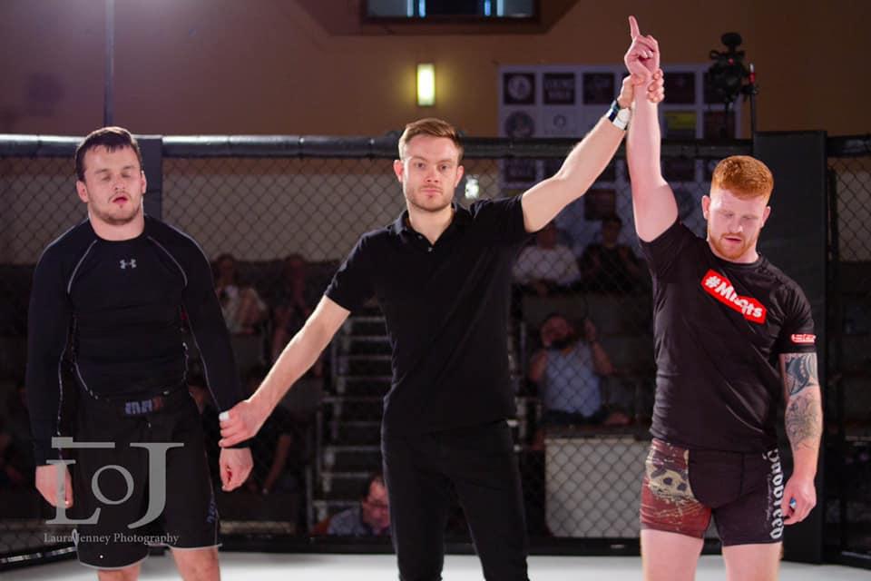 Kickboxing fundamentals Coach Euan Macleod.