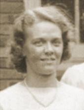 Charlotte Carlson, circa 1939