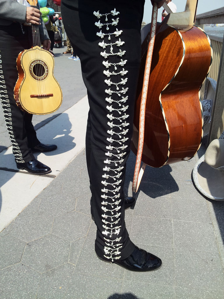 Mariachi in Lower East Side. New York, NY