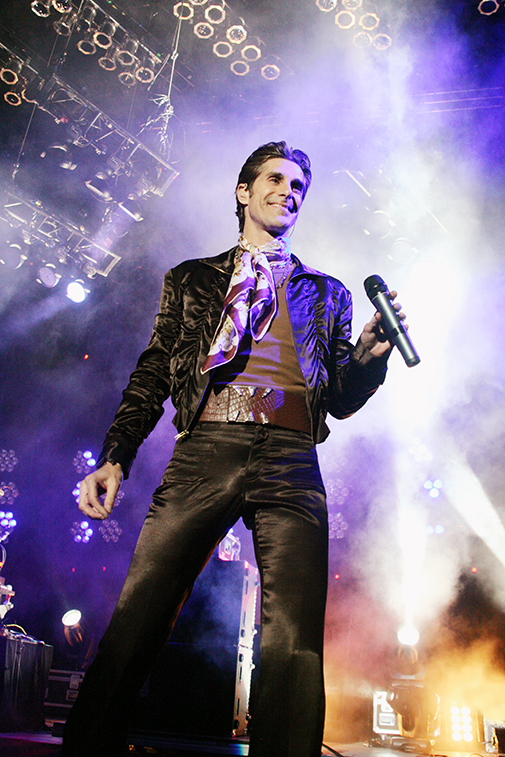 Perry Farrell / Janes Addiction - on Assignment for Sound Magazine