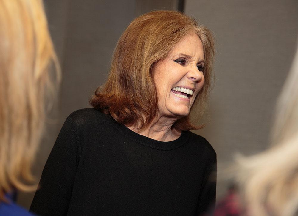Gloria Steinem joins Emerge America at Gloria: A Life play. New York, NY