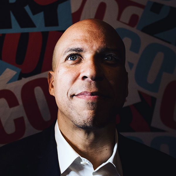 Photo of the Month: August 12, 2019: Portrait of 2020 Democratic Presidential Candidate and U.S. Senator from New Jersey, Cory Booker. Photo by Kristen Blush.