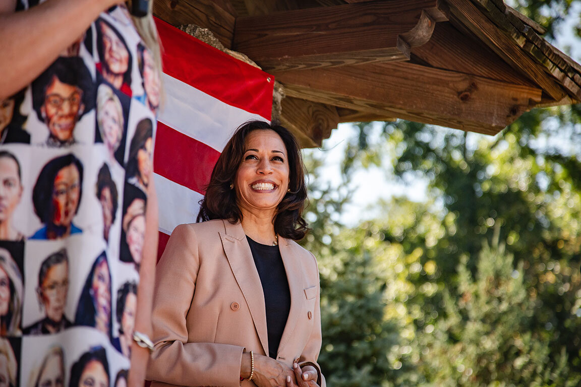 Photo by Kristen Blush for  Kamala Harris for the People .