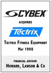 Cybex acquires Tectrix.png