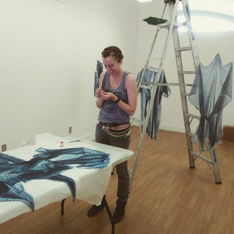 "Installing the ""Vital Gowns"""