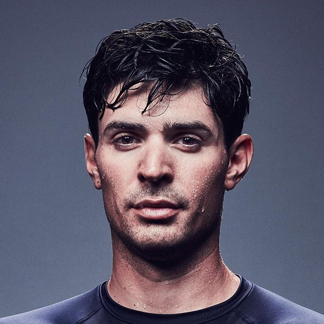 Portrait of Carey Price all schvitzy for #UnderArmour #ThePriceIsRight
