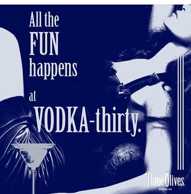 It's $3 Three Olives Vodka all day today! You can't get that ANYWHERE!! #threeolivesvodka #threedollars