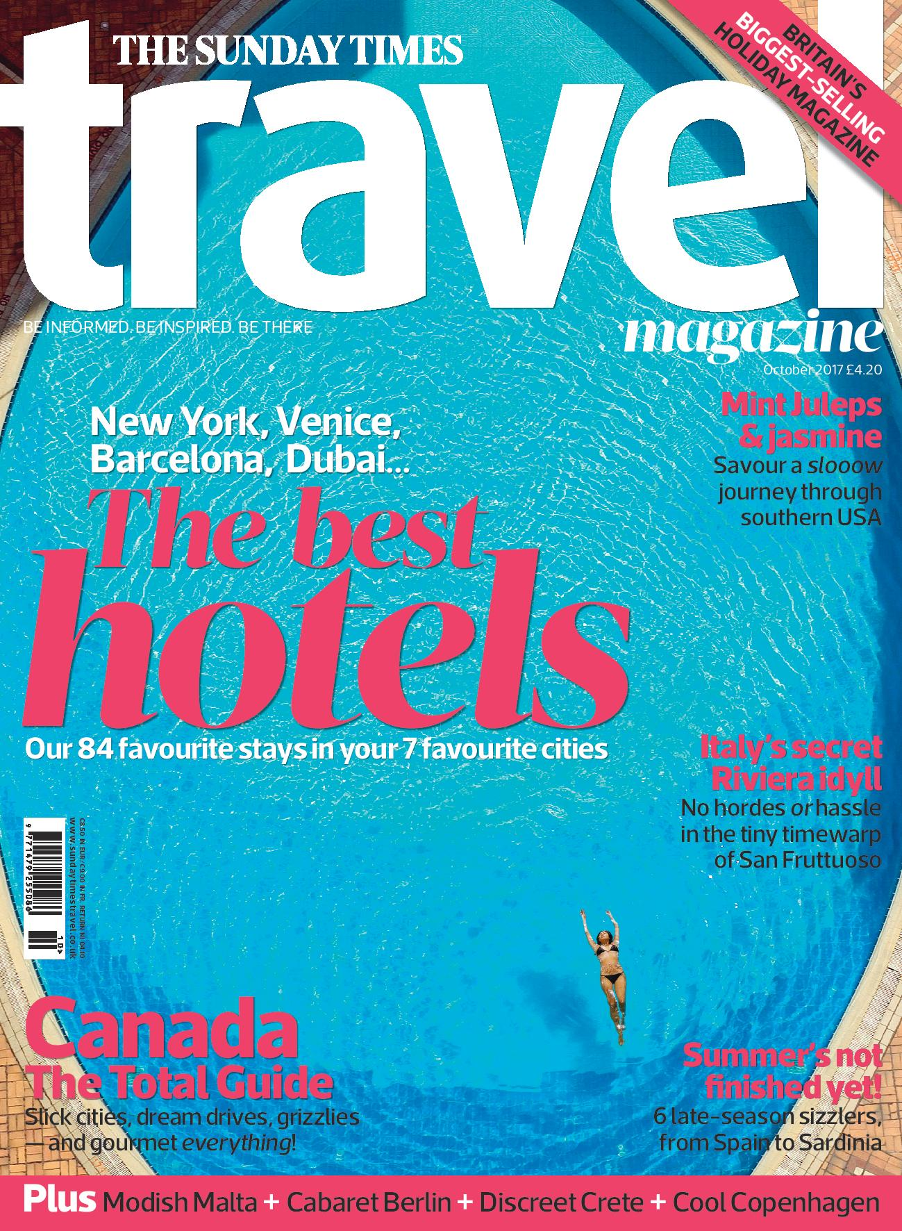 Sunday Times Travel Magazine loves Locanda La Gelsomina