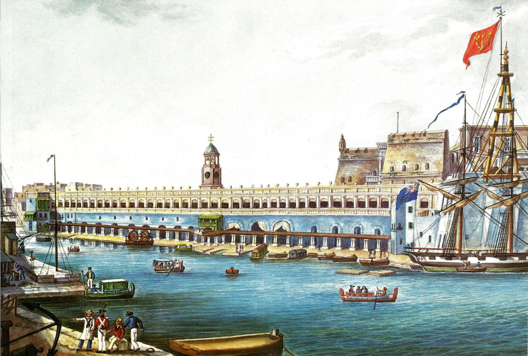 Dockyard in Malta