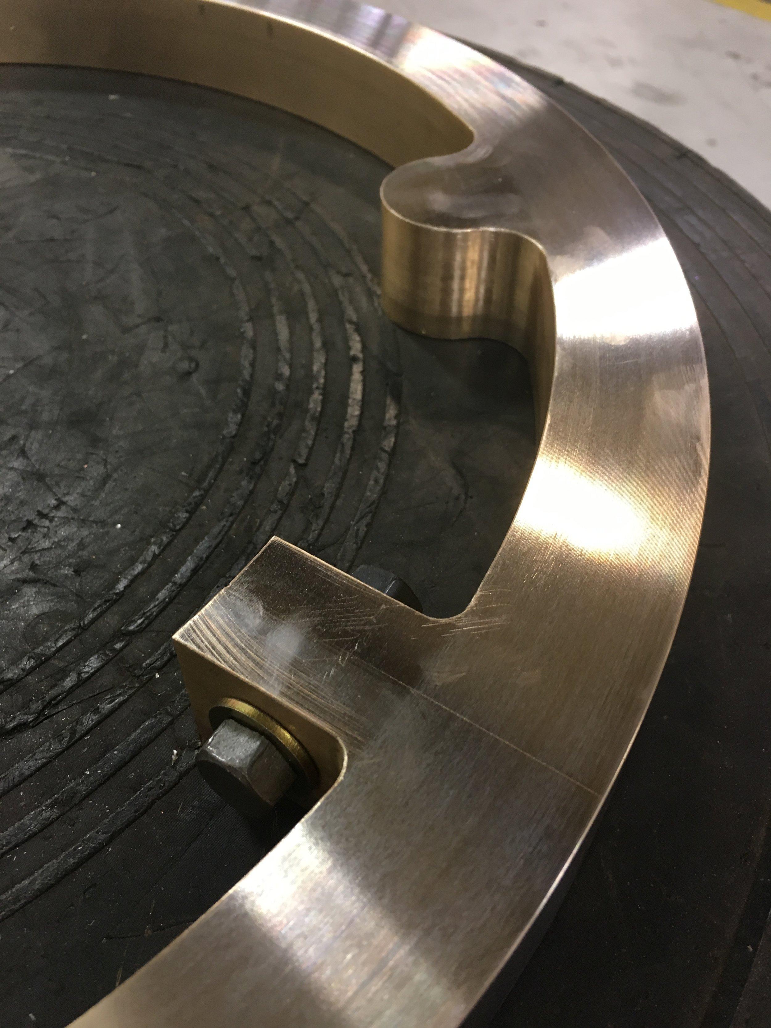 Bronze Split Rings