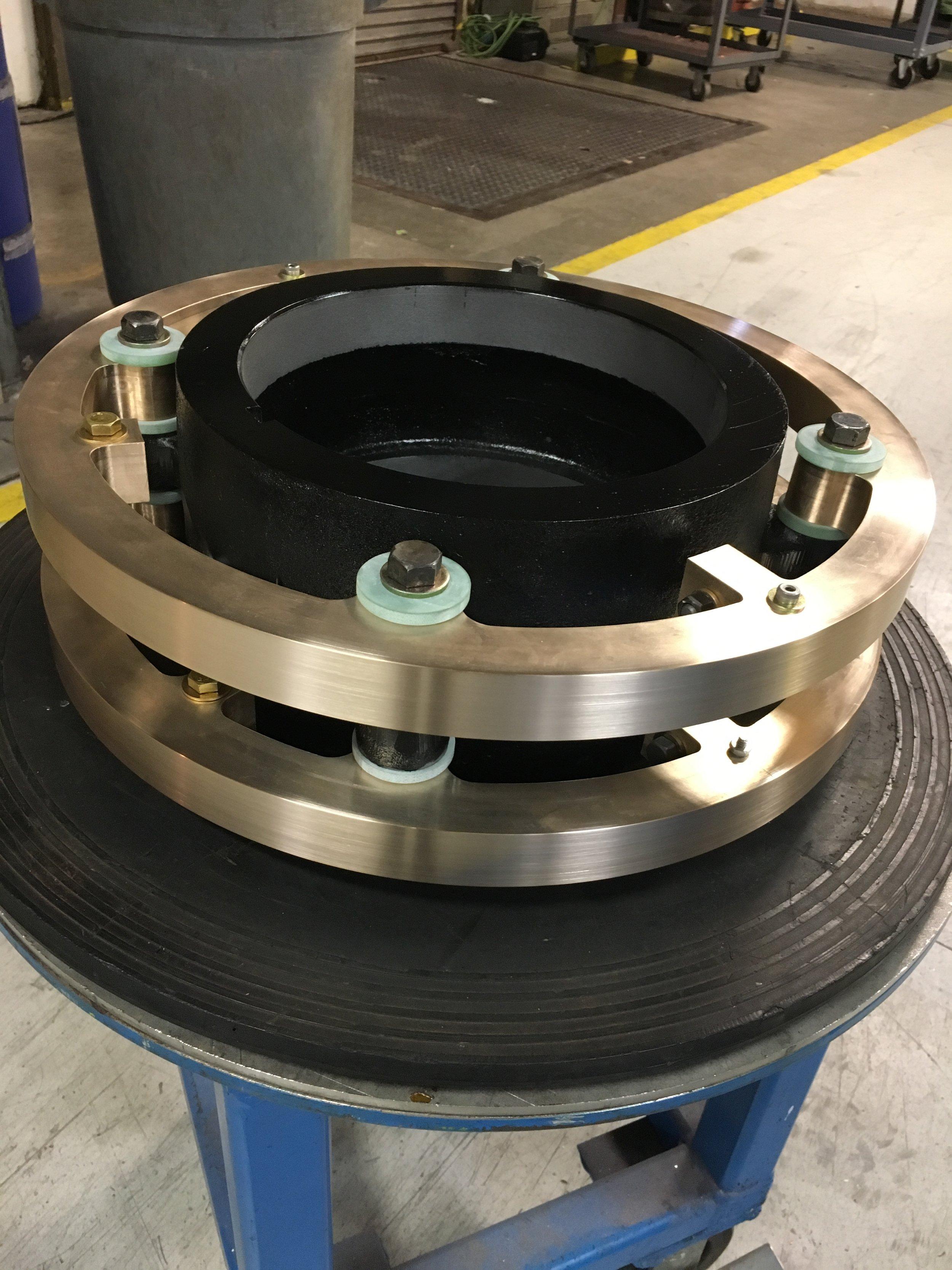 Bronze Slip Ring, Split