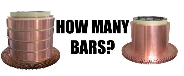 Commutator Bars