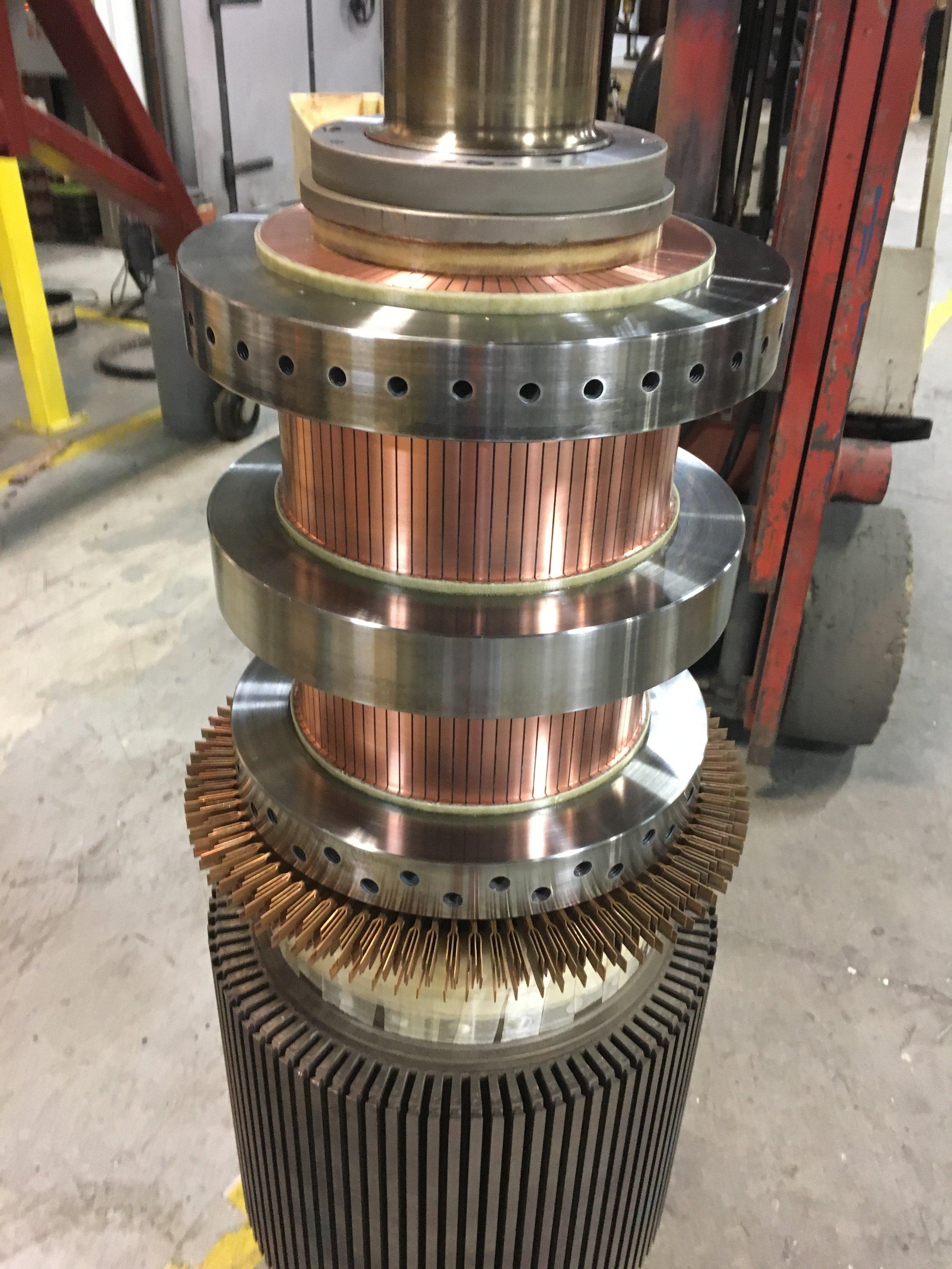 Steel Shrink Ring Commutator