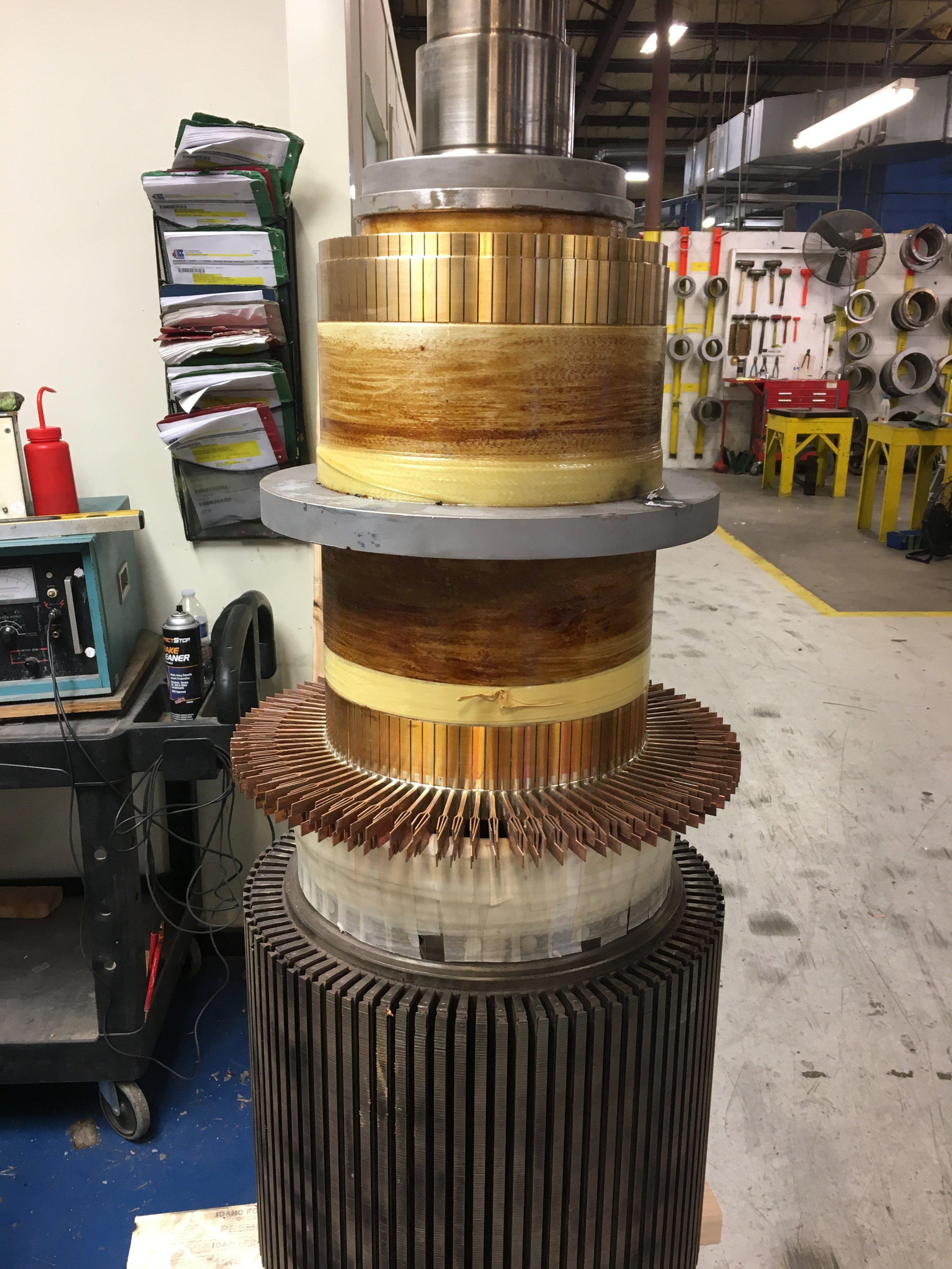 Steel Shrink Ring Commutator Refill