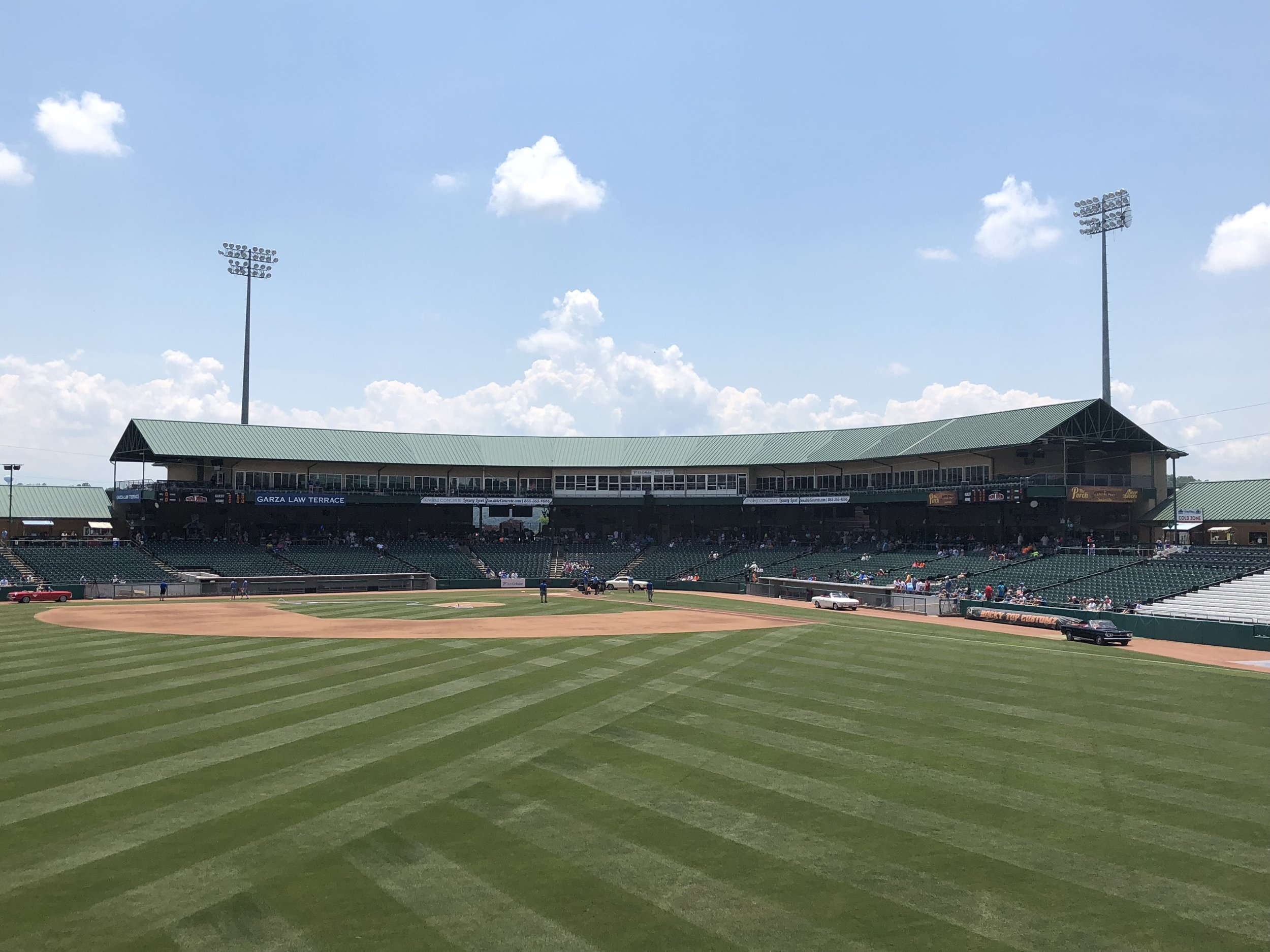 Smokies Baseball Field
