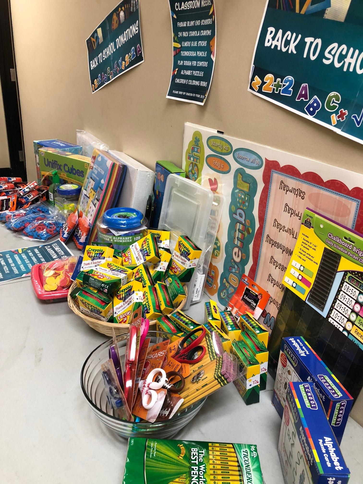 35 Random Acts of Kindness - School Supplies Donation
