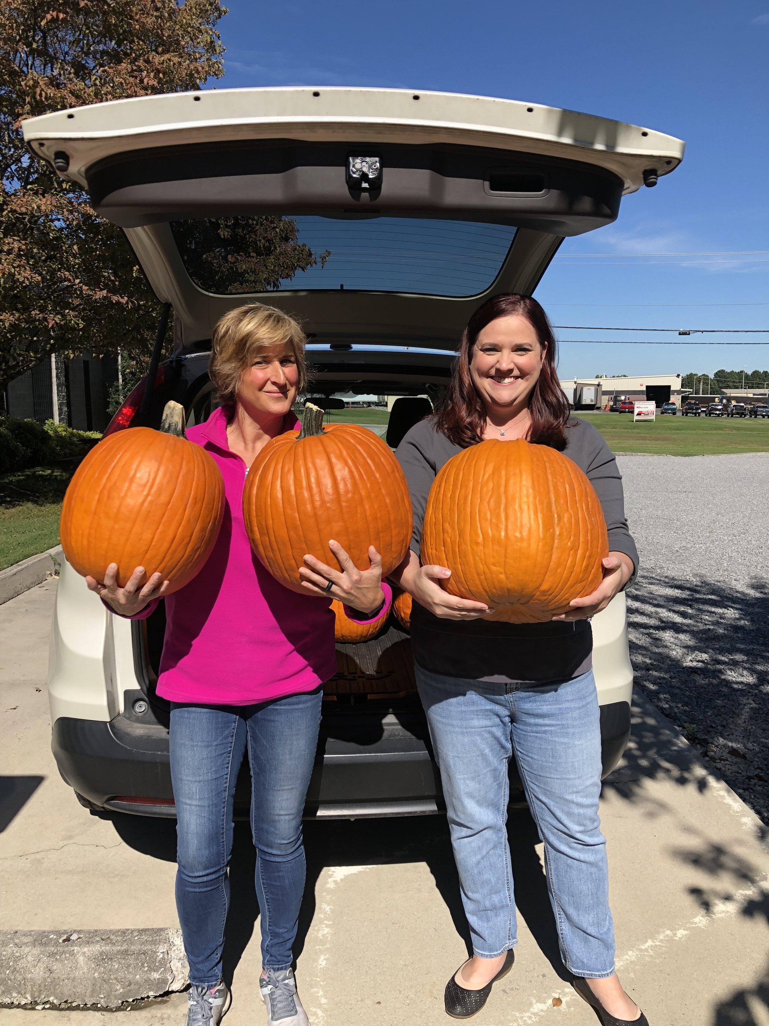 ICC International Random Acts of Kindness Pumpkin Donations