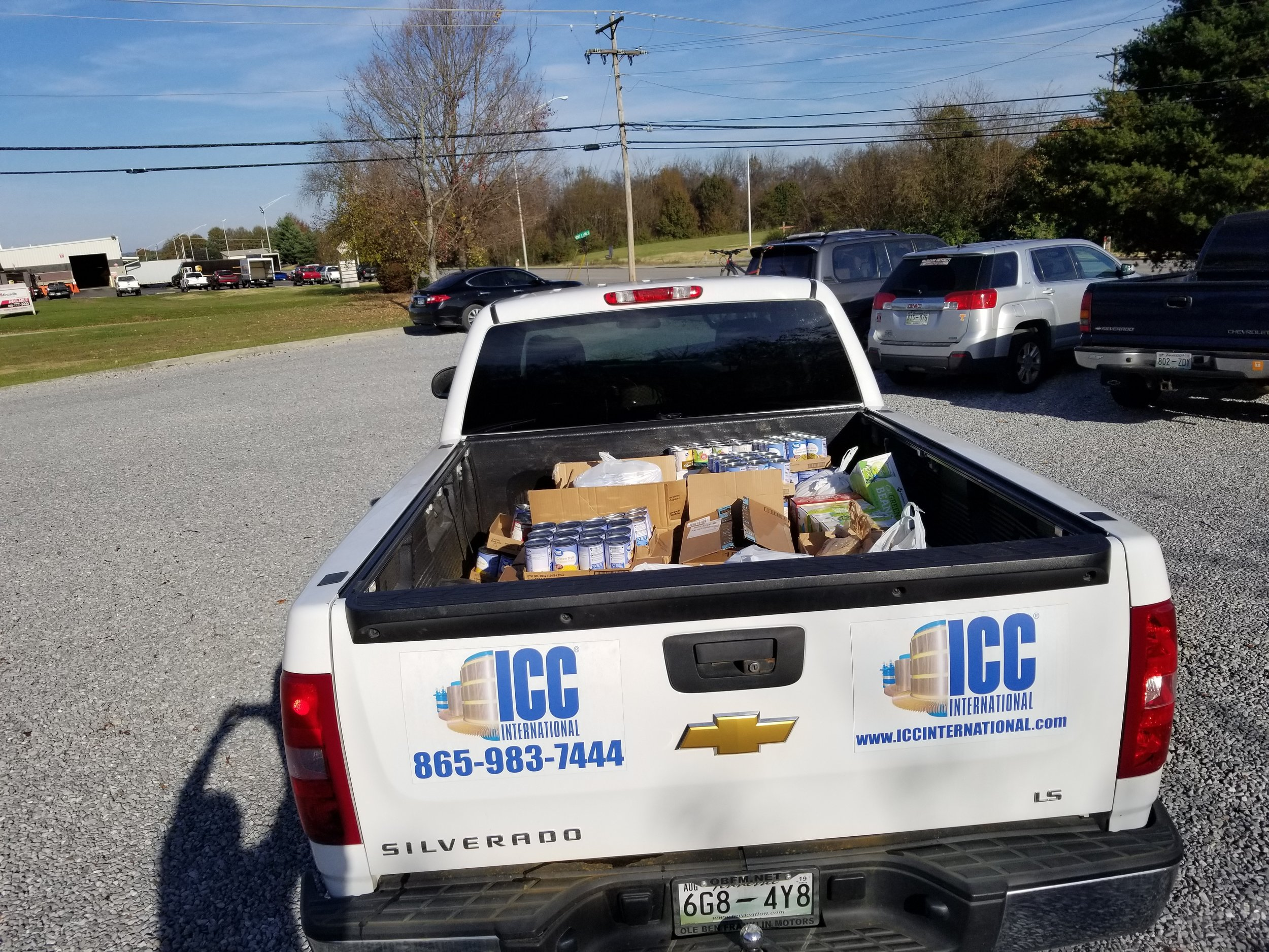 ICC International 35 Random Acts of Kindness Can Food Drive
