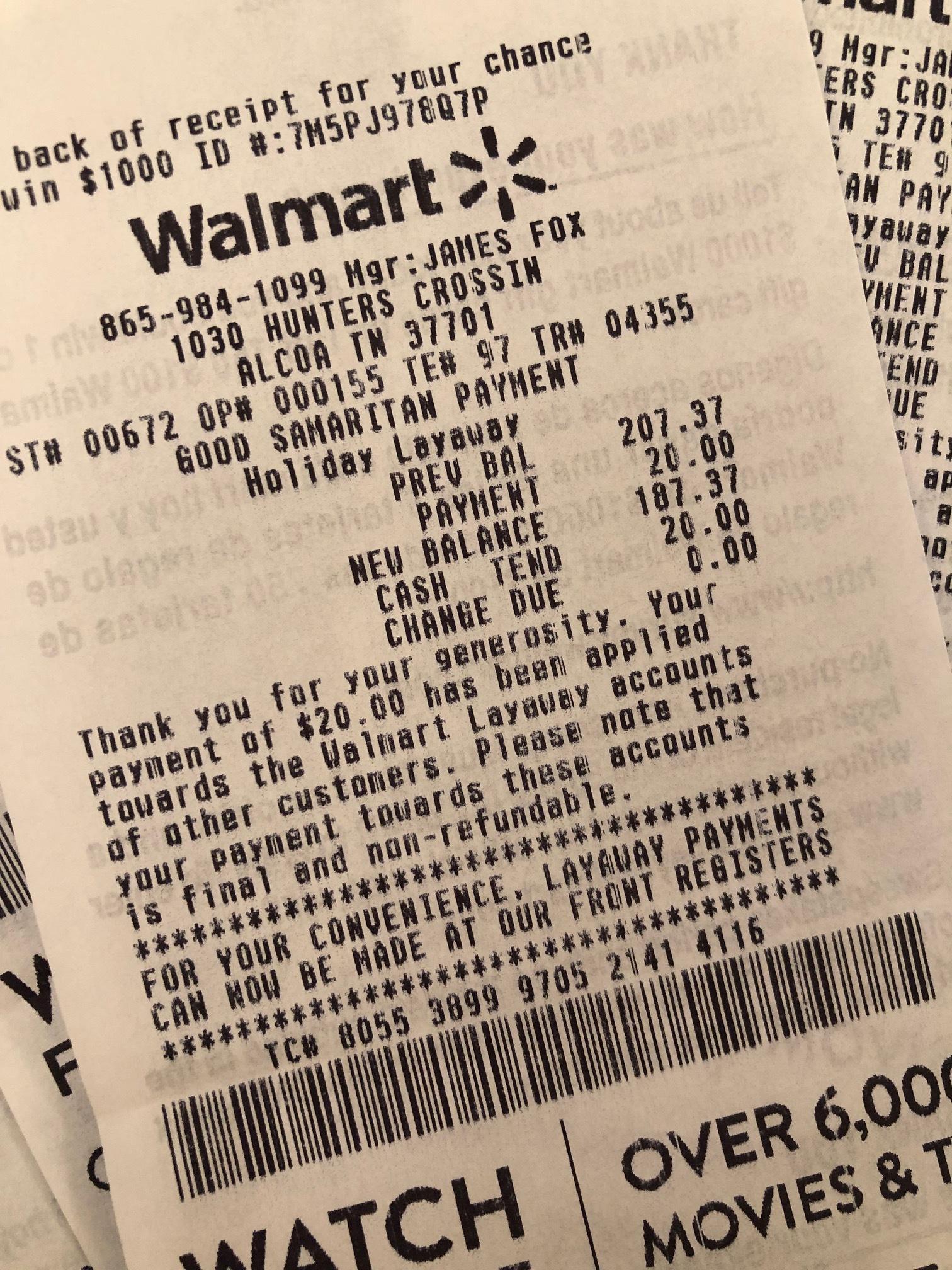 ICC International 35 Acts of Random Kindness Walmart