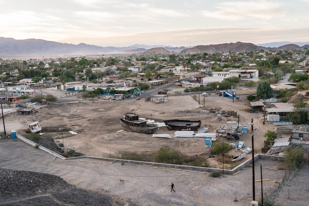 San Felipe, a fıshing town on the Gulf of California, Mexico. San Felipe, a small fishing town at the Gulf of California, Mexico. Almost everyone here makes a living from fishing. © Emre Caylak