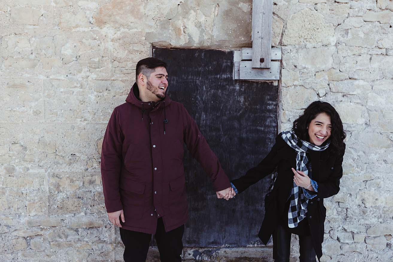 winter engagement session documentary photographer copperred photography