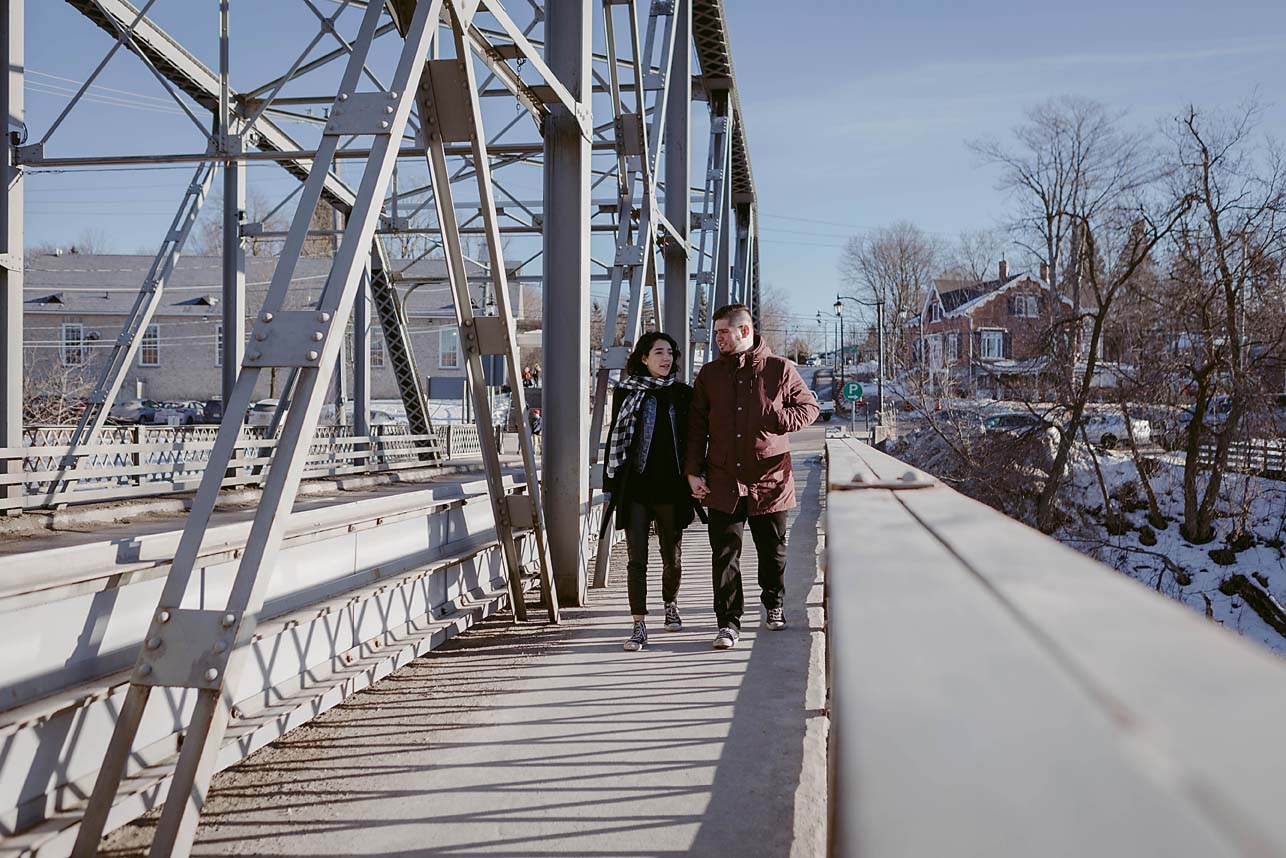 winter engagement session documentary photographer copperred photography elora