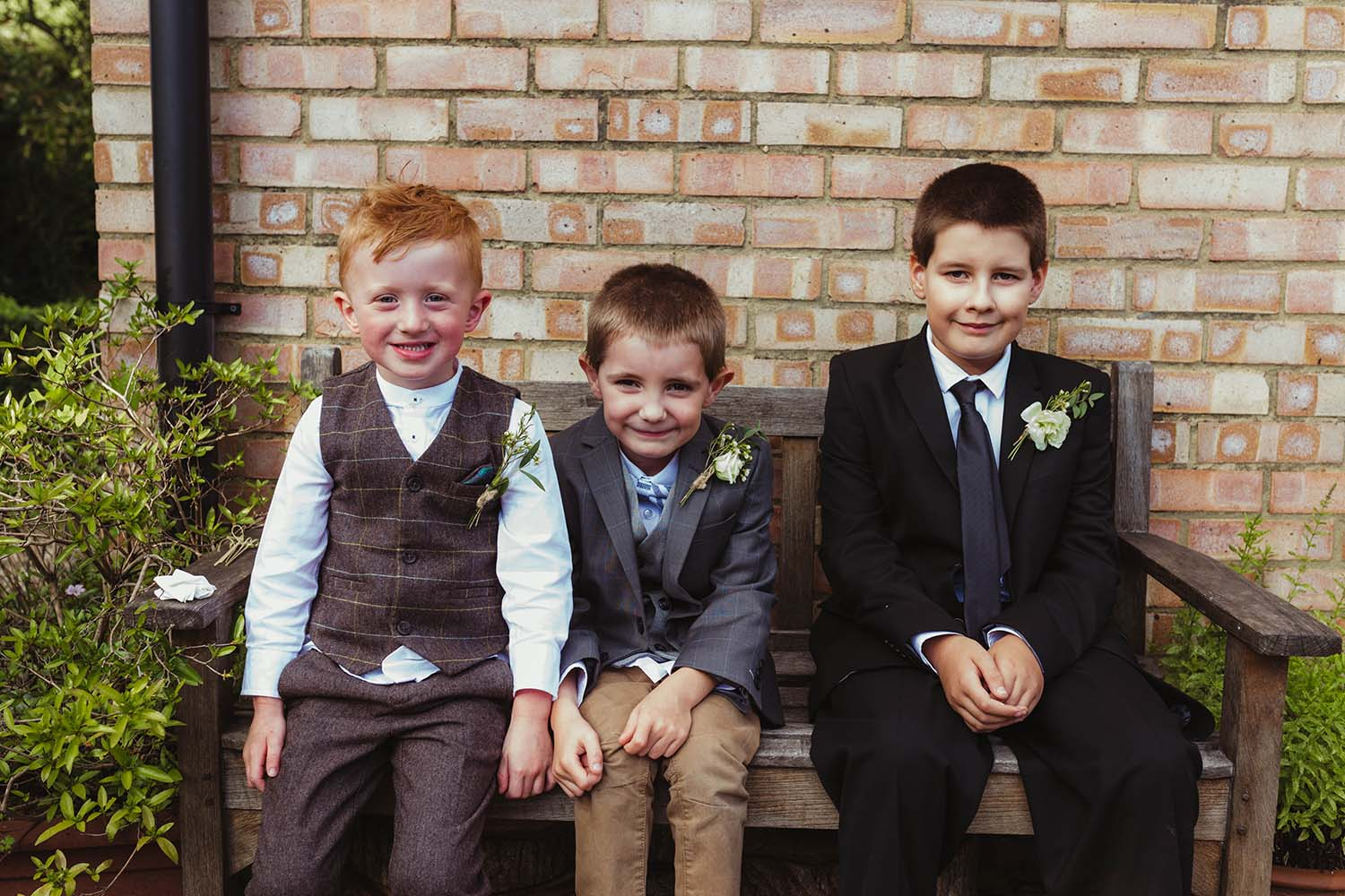 toronto wedding photographer copperred page boys