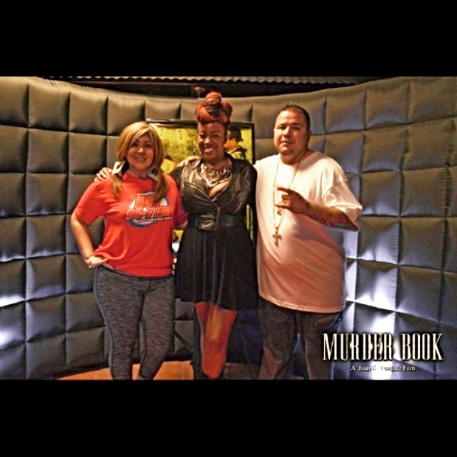 Houston's Hot 97.5's The Latina Girl, Carmen Contreras, Sydnee-Jane, & Rapper, Candyman at the Murder Book afterparty!