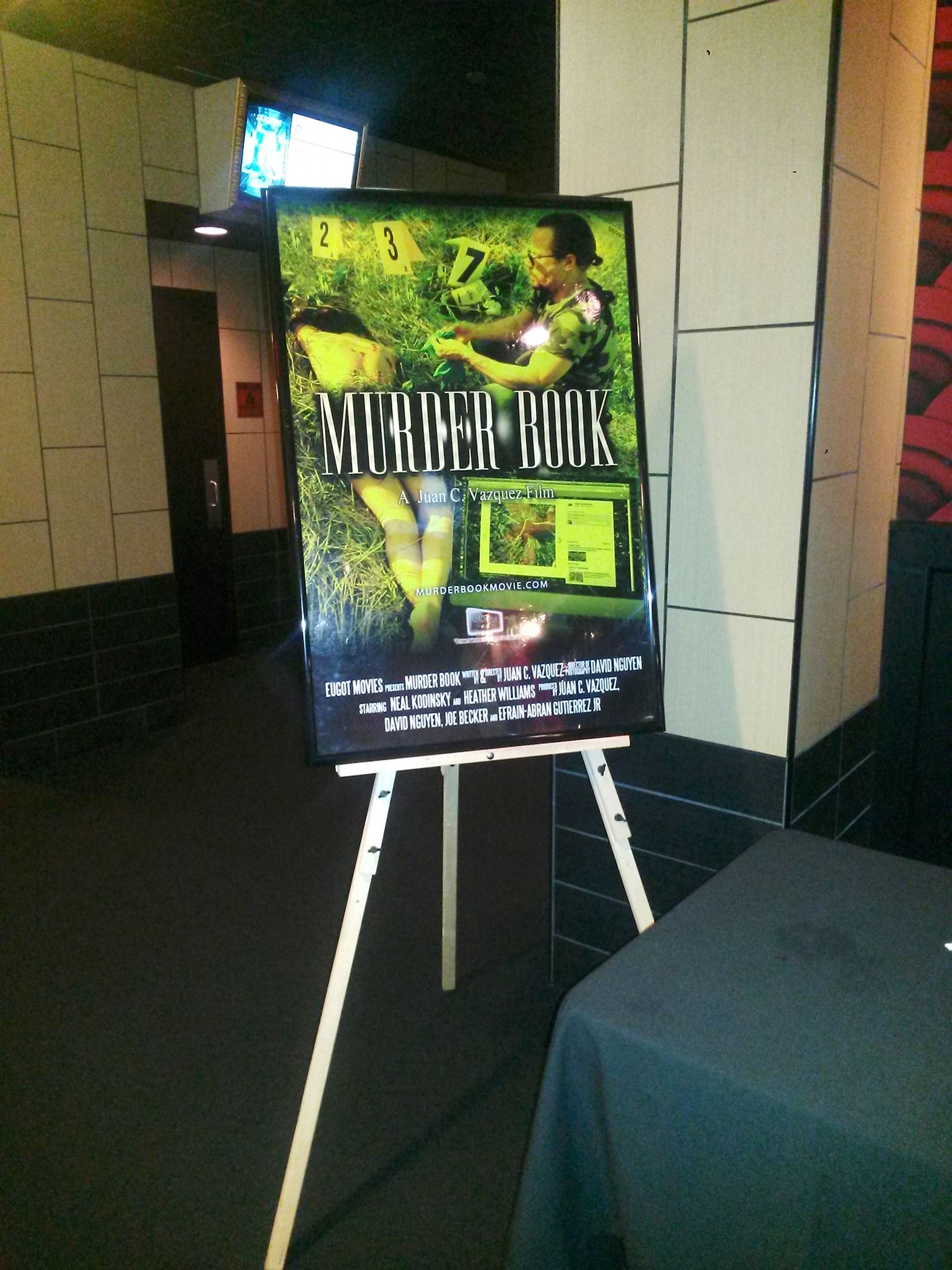 Movie Screening Day at Alamo Drafthouse