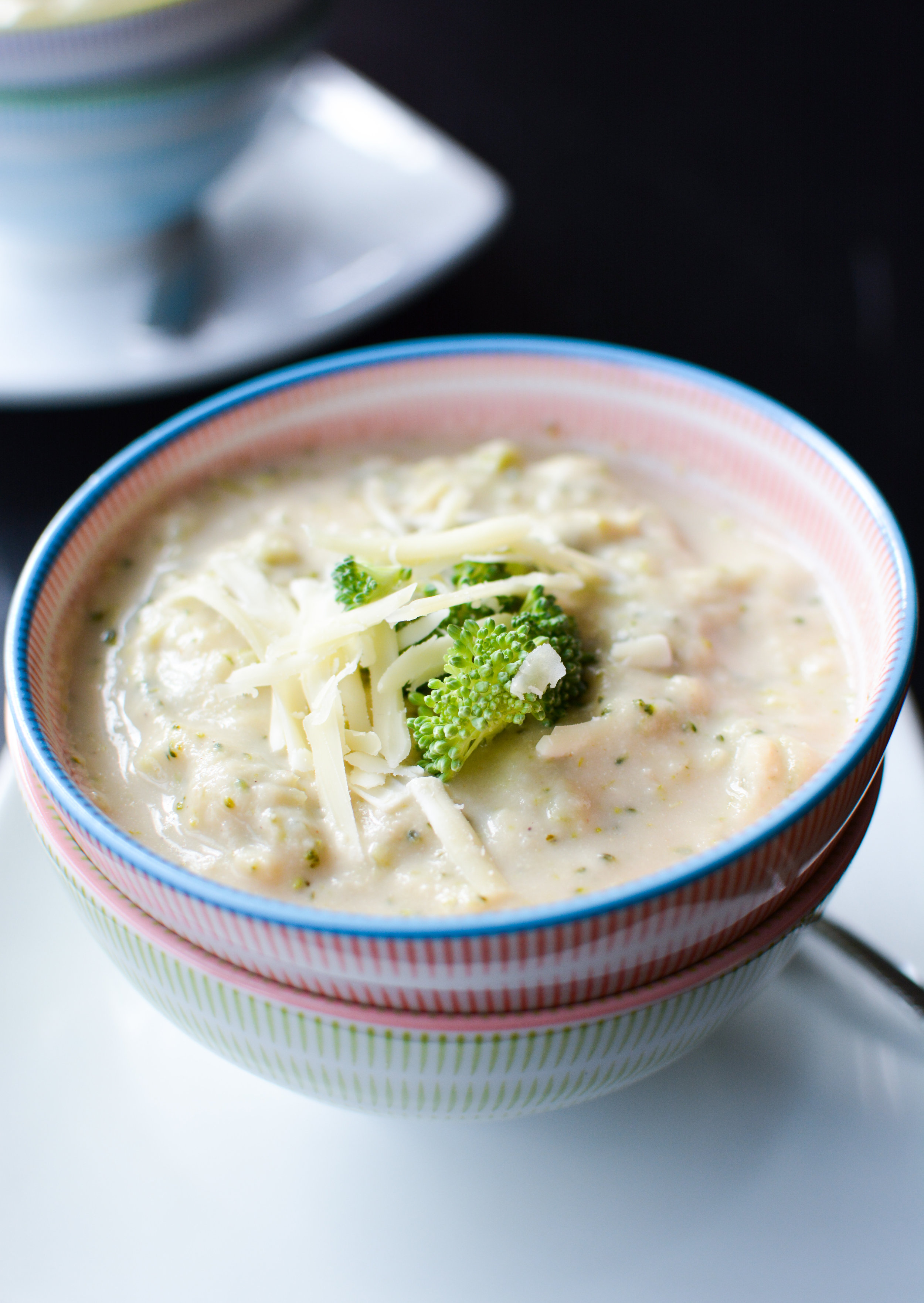 Hidden Vegetable Broccoli Cheddar Soup