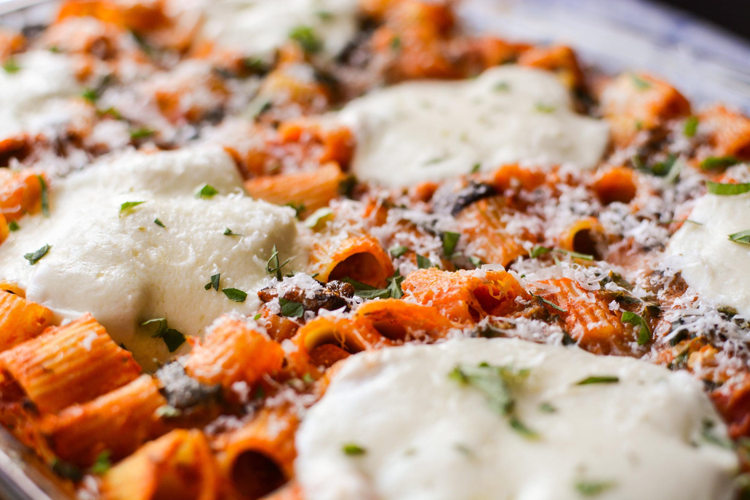 Vegetable Pasta Bake - Kristin's Kitchen