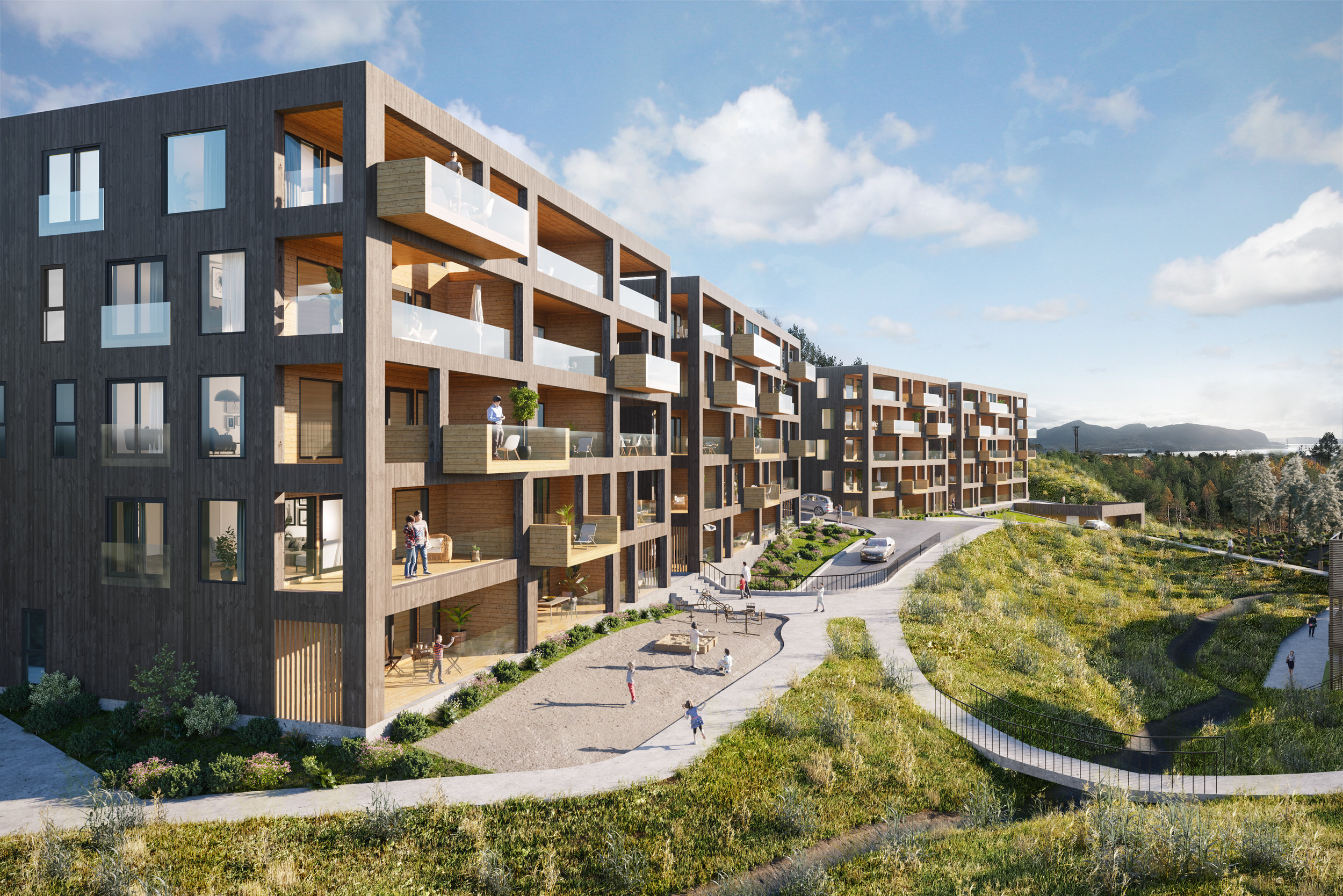 Gode nabolag skaper ikke seg selv. - Gode kvaliteter og gjennomtenkt utforming av boliger og områdene rundt skaper miljø mennesker trives i.