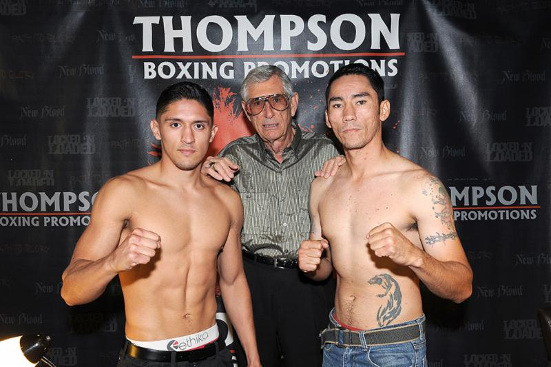 Giovani Santillan 144.4 vs. Rosbel Montoya, 143.1