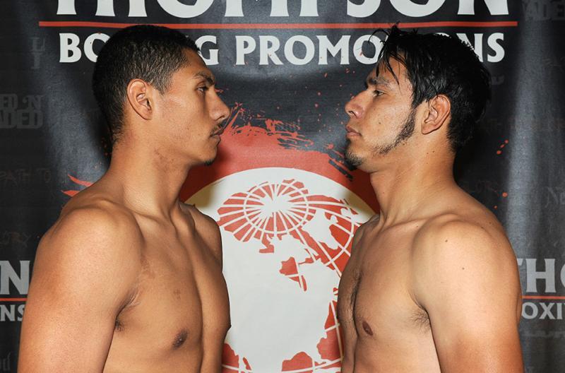 Rudy Puga, 163.6 vs. Juan Carlos Rojas, 164