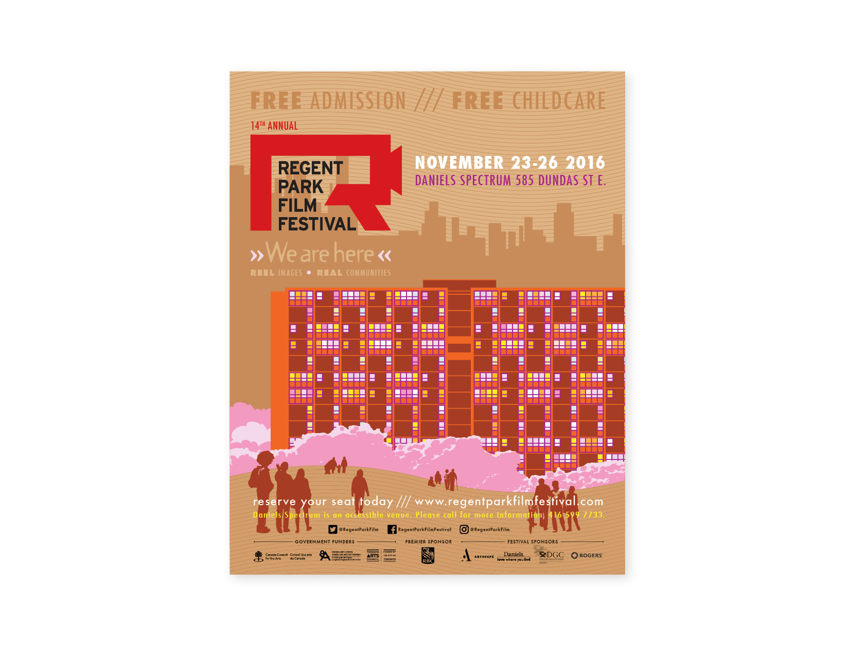 14th Annual Regent Park Film Festival poster