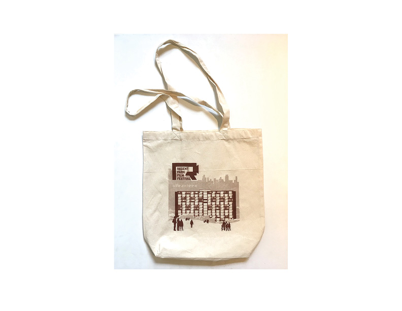 14th Annual Regent Park Film Festival tote bag