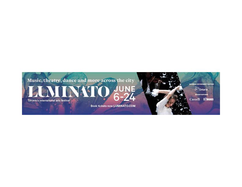 Luminato 2018 — Streetcar ad