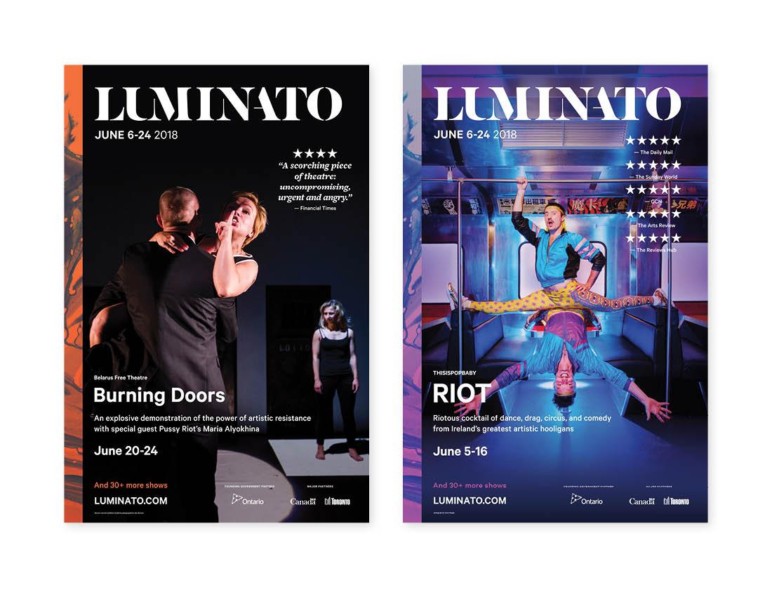 Luminato 2018 Posters