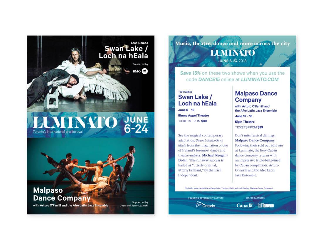 Luminato 2018 — Postcard