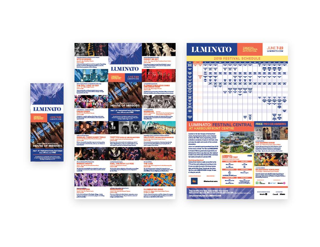 Luminato 2019 Folding Flyer