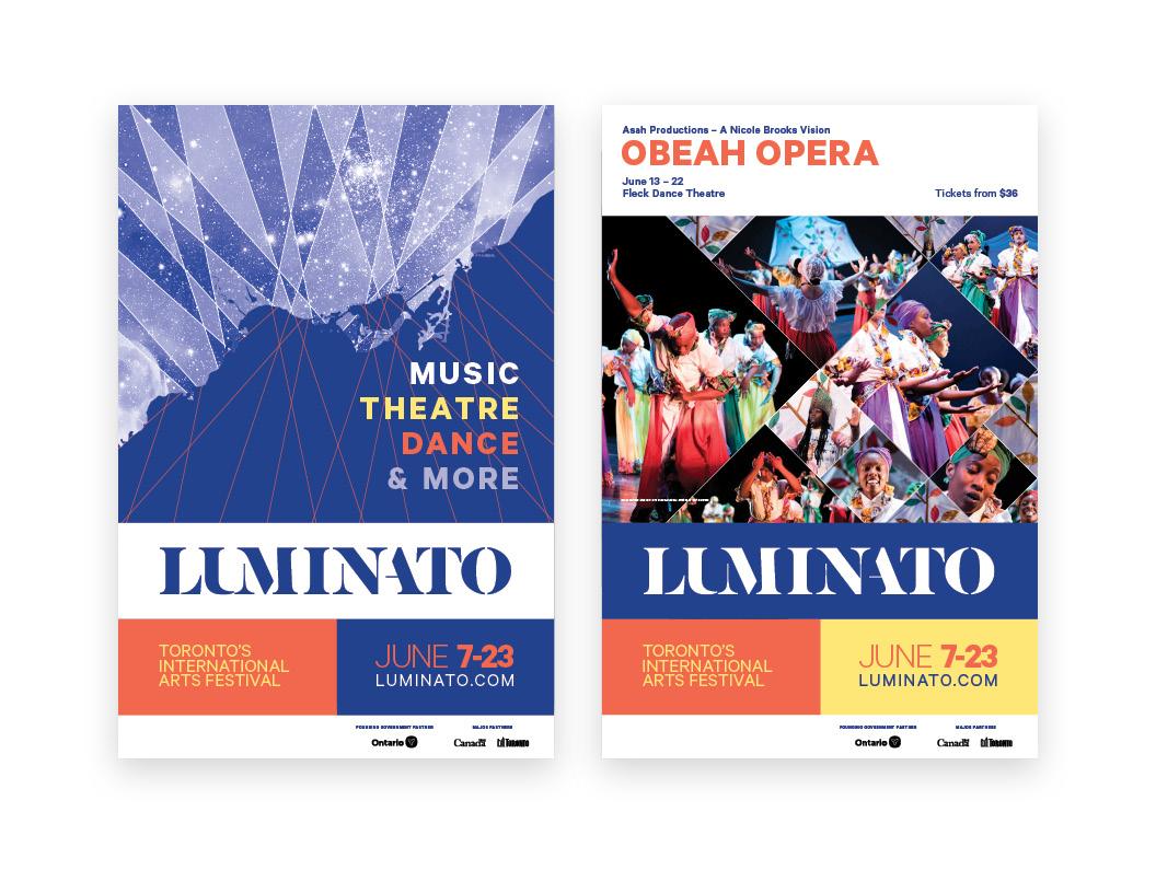 Luminato 2019 Poster Campaign — General Festival / Obeah Opera