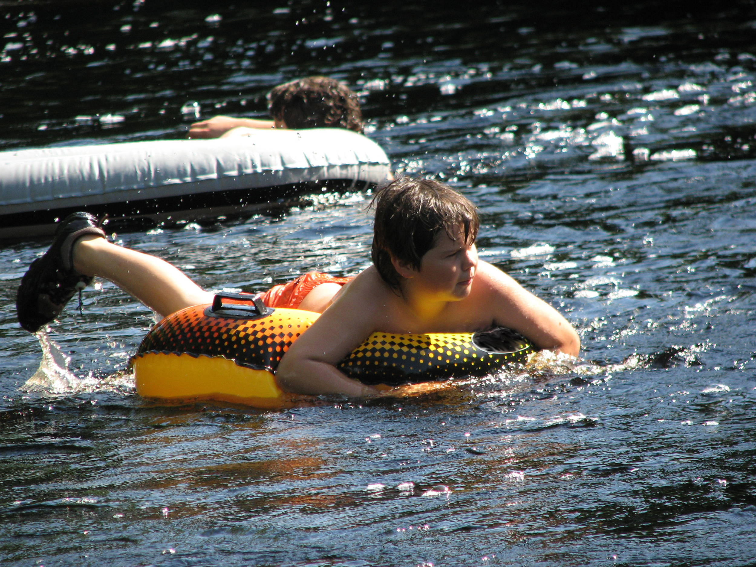 Tubing the Nolichucky River