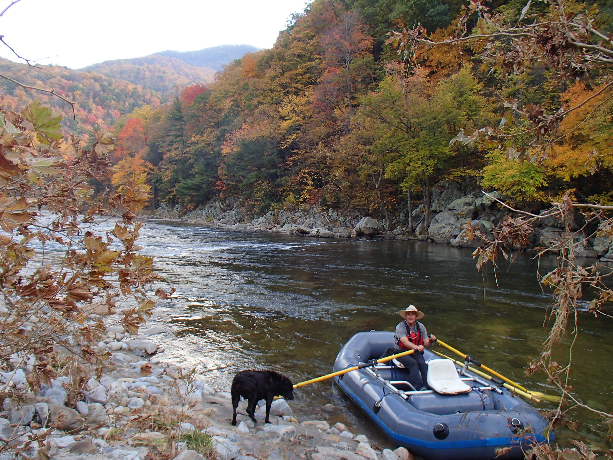 Whitewater Rafting on the Nolichucky River