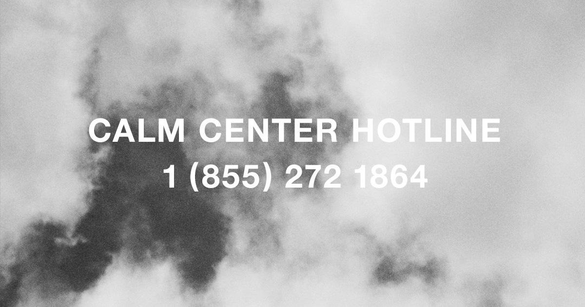 Calm Campaign - Composition for Need Supply clothing company's Calm Marketing Campaign (included telephone hotline guided meditation excercise). 08/2016