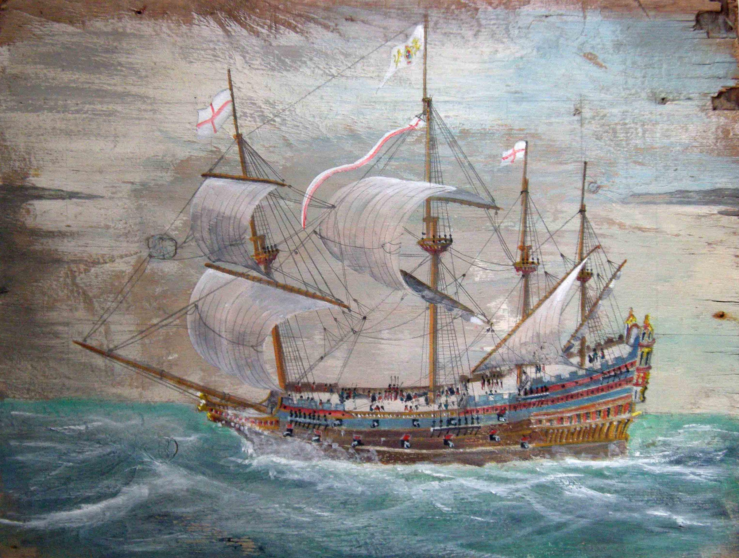 Tudor Warship